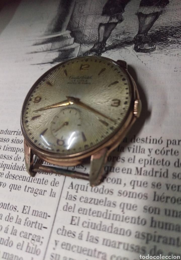 Vintage: RELOJ CRITAL WATCH ORIGINAL A CUERDA SWISS MADE VER FOTOS - FUNCIONANDO - Foto 2 - 183833166