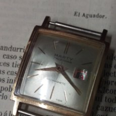 Vintage: RELOJ MARTY 5J ORIGINAL A CUERDA SWISS MADE VER FOTOS. Lote 183834947