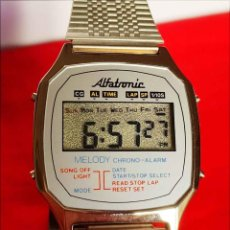 Vintage: RELOJ ALFATRONIC DIGITAL, VINTAGE, NOS (NEW OLD STOCK). Lote 184371931