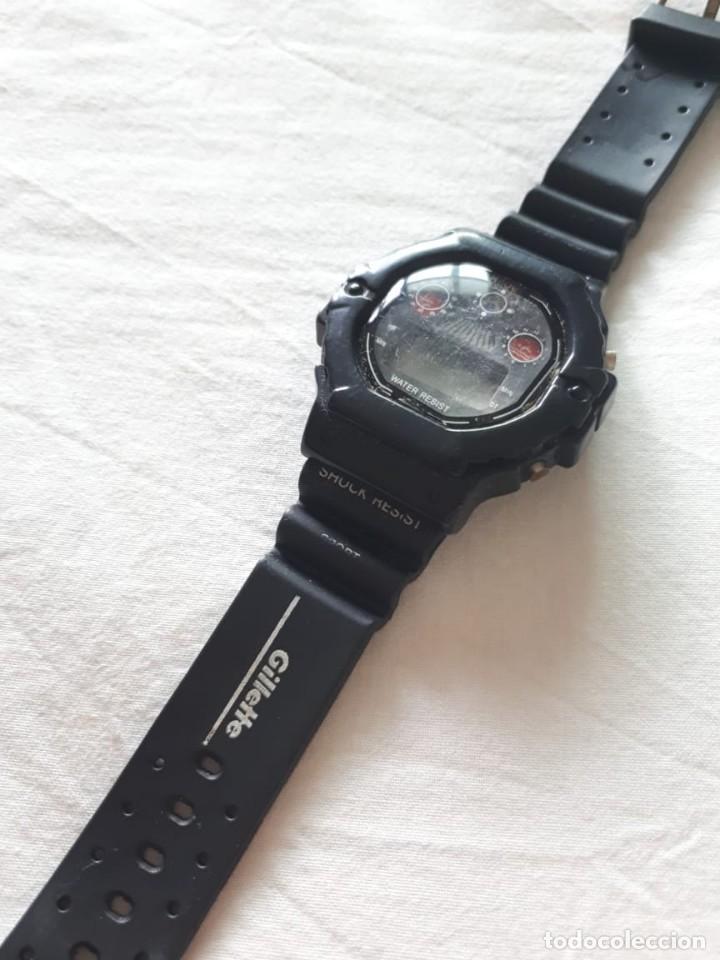 RELOJ PROMOCIONAL GILLETTE (Relojes - Relojes Vintage )