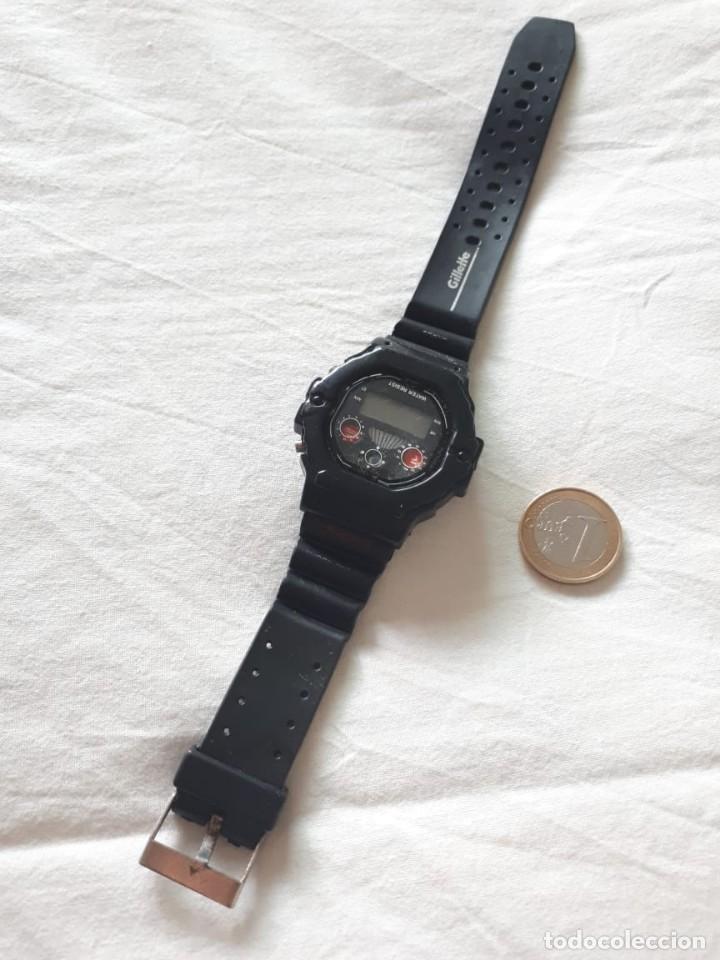 Vintage: Reloj promocional Gillette - Foto 3 - 184780102