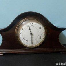 Vintage: RELOG DE CHIMENEA SOBREMESA. BILBAO MAQUINARIA FRANCIA.. Lote 185673863