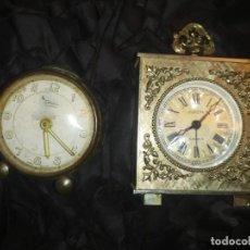 Vintage: LOTE DOS RELOJES ANTIGUOS VINTAGE BONITOS EUROPA 2 JEVELS DIEHL GERMANY. Lote 186163050