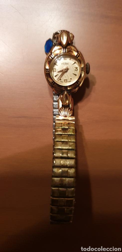 ROLLED GOLD BEZEL 20 MICRONS. SEÑORA (Relojes - Relojes Vintage )