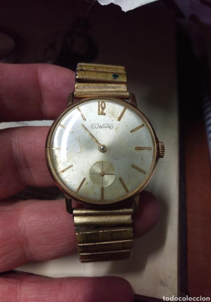 RELOJ DUWARD ORIGINAL A CUERDA SWISS MADE VER FOTOS (Relojes - Relojes Vintage )