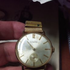 Vintage: RELOJ DUWARD ORIGINAL A CUERDA SWISS MADE VER FOTOS. Lote 189111356