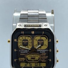 Vintage: RELOJ CITIZEN ROBOT FACE REF 8941 MADE IN JAPAN. Lote 189234681