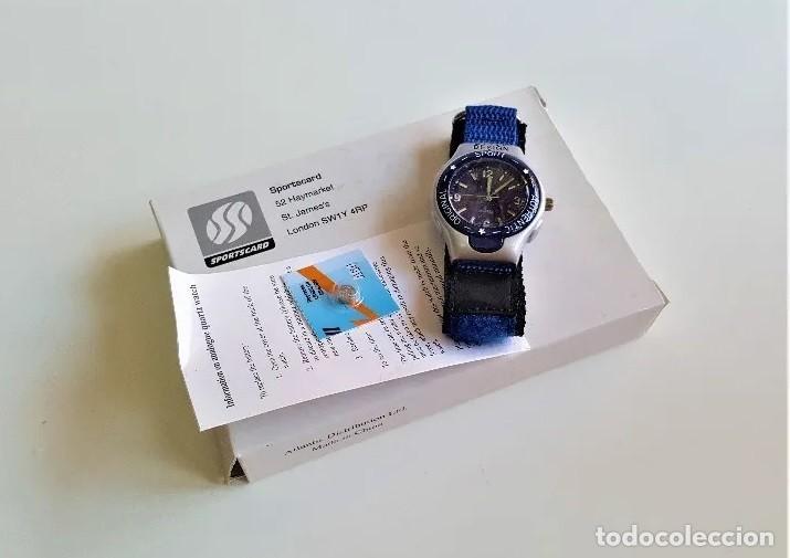 RELOJ SPORTSCARD , COMPLETAMENTE NUEVO EN CAJA, CON CERTIFICADO. (Relojes - Relojes Vintage )