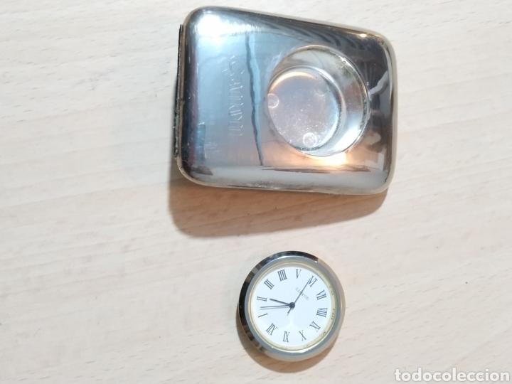 Vintage: Reloj sobremesa pisapapeles publicidad Canon - años 90 - Foto 13 - 190318488