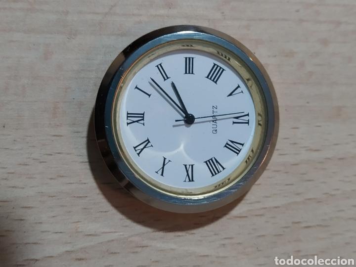 Vintage: Reloj sobremesa pisapapeles publicidad Canon - años 90 - Foto 15 - 190318488