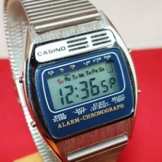Vintage: RELOJ CASINO DIGITAL, VINTAGE, NOS (NEW OLD STOCK). Lote 190336487