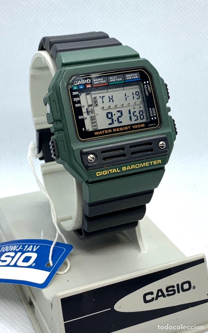 Vintage: Reloj Casio Barometer BM-100WJ japan vintage Nos - Foto 2 - 190565637