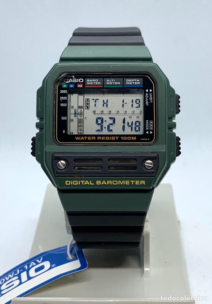 RELOJ CASIO BAROMETER BM-100WJ JAPAN VINTAGE NOS (Relojes - Relojes Vintage )