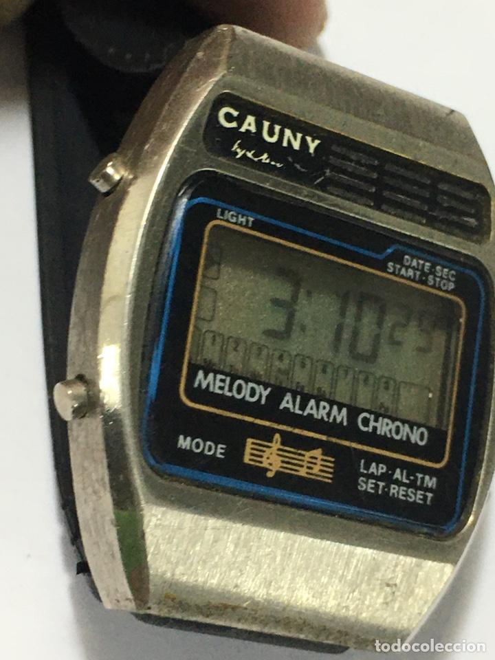 Vintage: Reloj Cauny Melody digital antiguo para coleccionistas - Foto 2 - 221634773