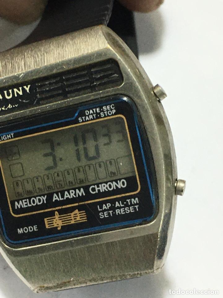 Vintage: Reloj Cauny Melody digital antiguo para coleccionistas - Foto 3 - 221634773