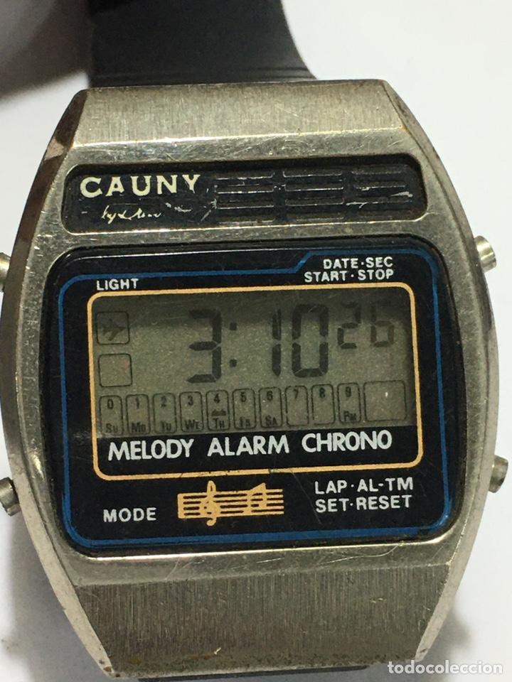 RELOJ CAUNY MELODY DIGITAL ANTIGUO PARA COLECCIONISTAS (Relojes - Relojes Vintage )