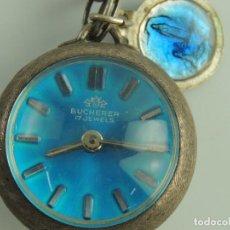 Vintage: VINTAGE RELOJ COLGANTE MARCA BUCHERER 17 JUWELS SUIZA . Lote 191120533