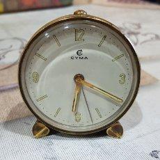 Vintage: RELOJ DESPERTADOR CYMA. Lote 191281195