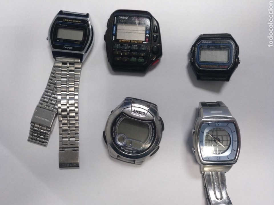 LOTE RELOJES CASIO (Relojes - Relojes Vintage )