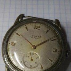 Vintage: RELOJ INVICTA ORIGINAL A CUERDA 15 RUBIS VER FOTOS. Lote 191670887