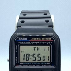Vintage: RELOJ CASIO JOGGING & EXERCISE JE-50W JAPAN NUEVO. Lote 206791505