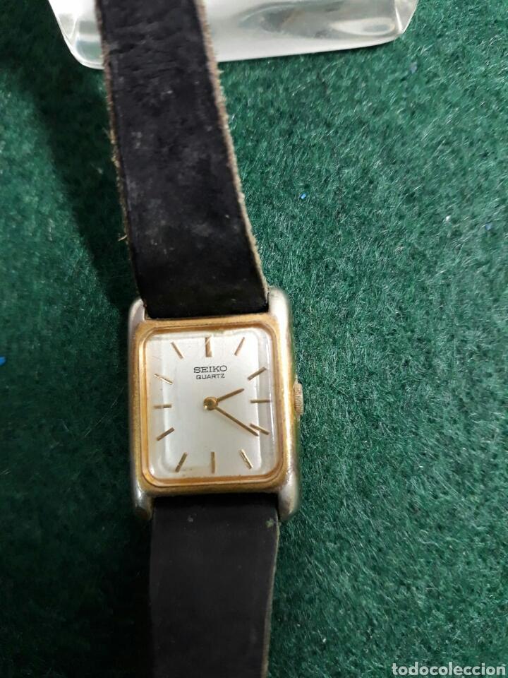 Vintage: Reloj de mujer seiko correa de piel - Foto 2 - 193885530