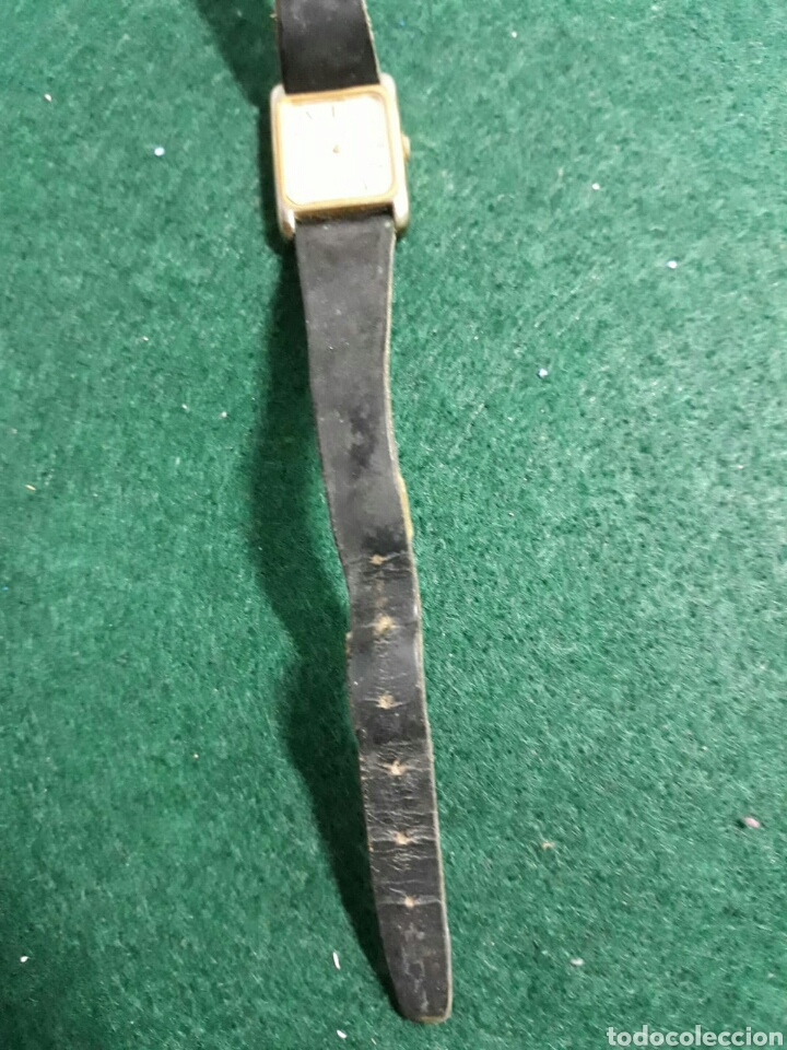 Vintage: Reloj de mujer seiko correa de piel - Foto 4 - 193885530