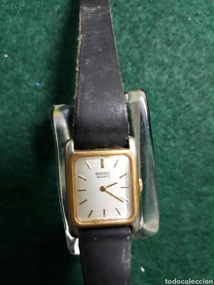 RELOJ DE MUJER SEIKO CORREA DE PIEL (Relojes - Relojes Vintage )