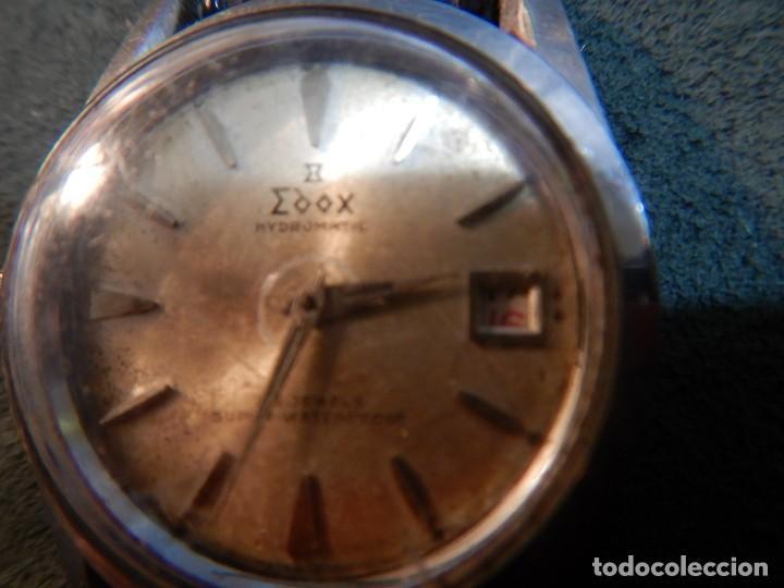 Vintage: Reloj Edox hidromatic - Foto 8 - 194226773