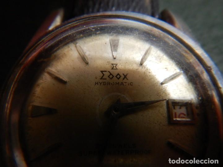 Vintage: Reloj Edox hidromatic - Foto 3 - 194226773
