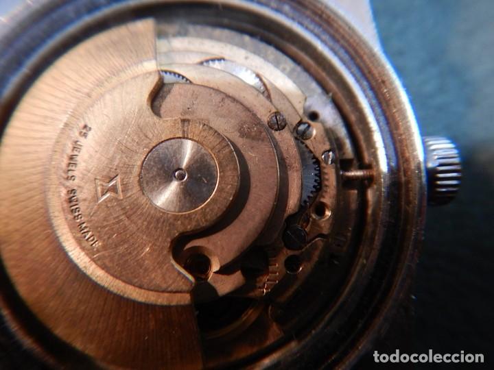 Vintage: Reloj Edox hidromatic - Foto 6 - 194226773