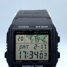 Vintage: RELOJ CASIO WORLD TIME W-50U VINTAGE. Lote 194356411