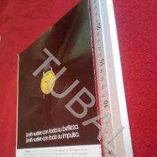 Vintage: TUBAL ZENITH RELOJERIA RELOJES PUBLICIDAD ANTIGUA 100% ORIGINAL B19. Lote 194491055