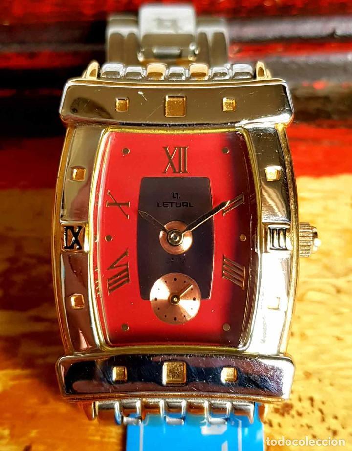 Vintage: RELOJ LETUAL, vintage, NOS (new old stock) - Foto 3 - 194503370