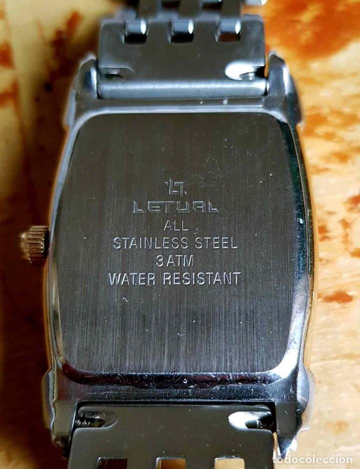 Vintage: RELOJ LETUAL, vintage, NOS (new old stock) - Foto 8 - 194503370