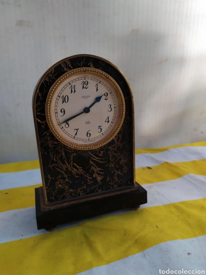 ANTIGUO RELOJ DE SOBREMESA JAEGER (Relojes - Relojes Vintage )