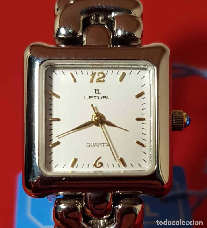Vintage: RELOJ LETUAL, vintage, NOS (new old stock) - Foto 2 - 194751603
