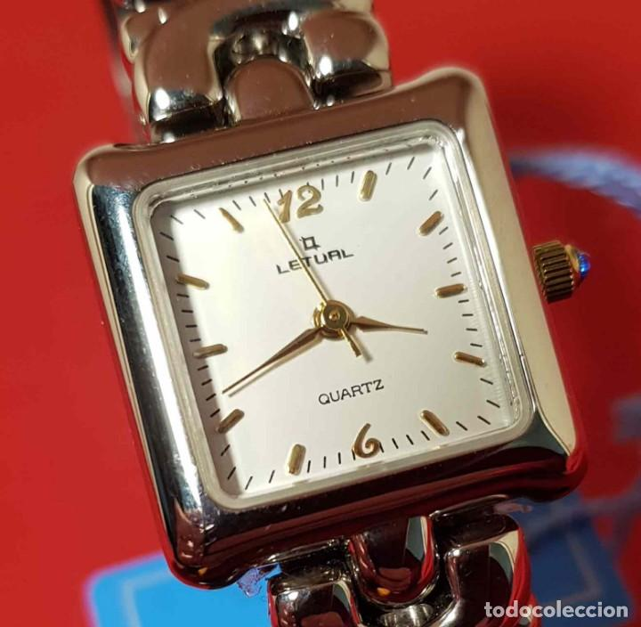Vintage: RELOJ LETUAL, vintage, NOS (new old stock) - Foto 4 - 194751603