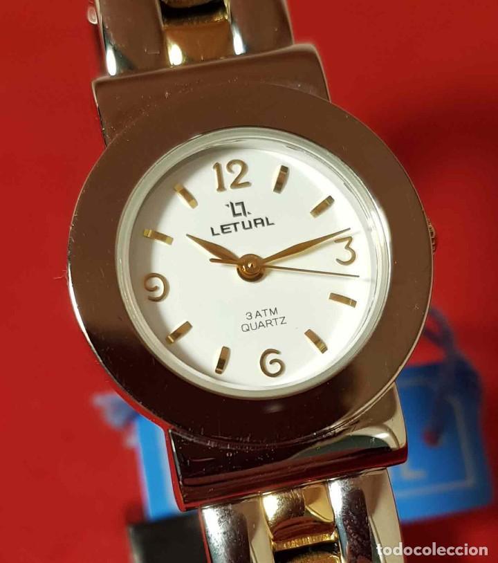 Vintage: RELOJ LETUAL, vintage, NOS (new old stock) - Foto 3 - 194752271