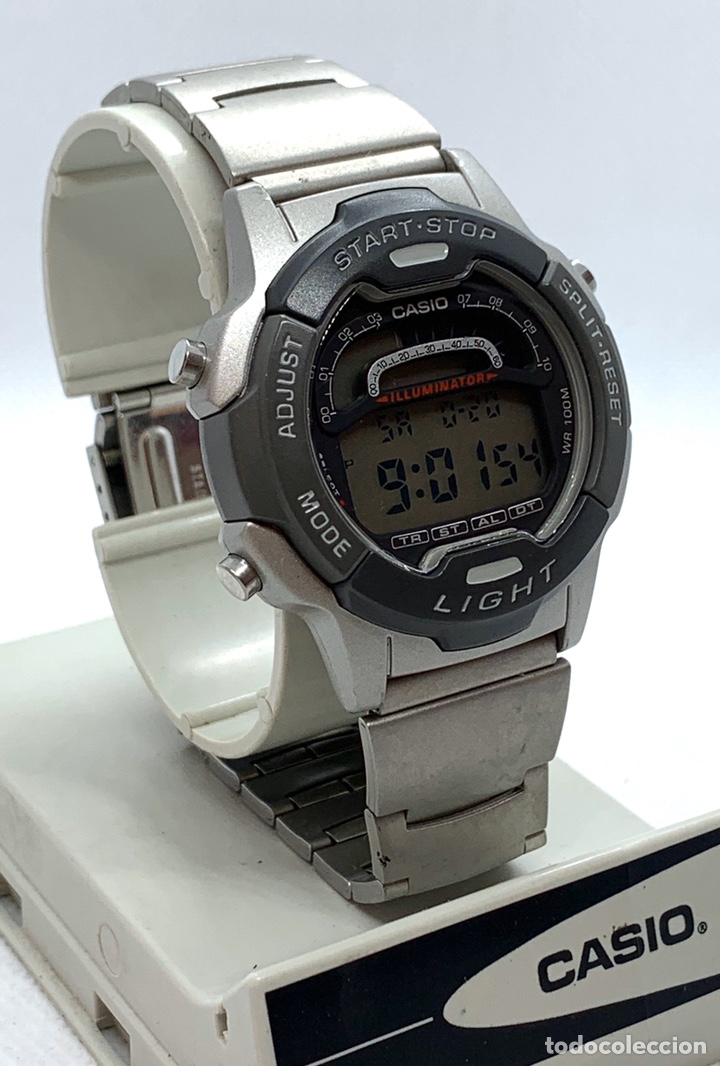 Vintage: Reloj Casio W-729 nuevo de antiguo stock - Foto 2 - 194897430