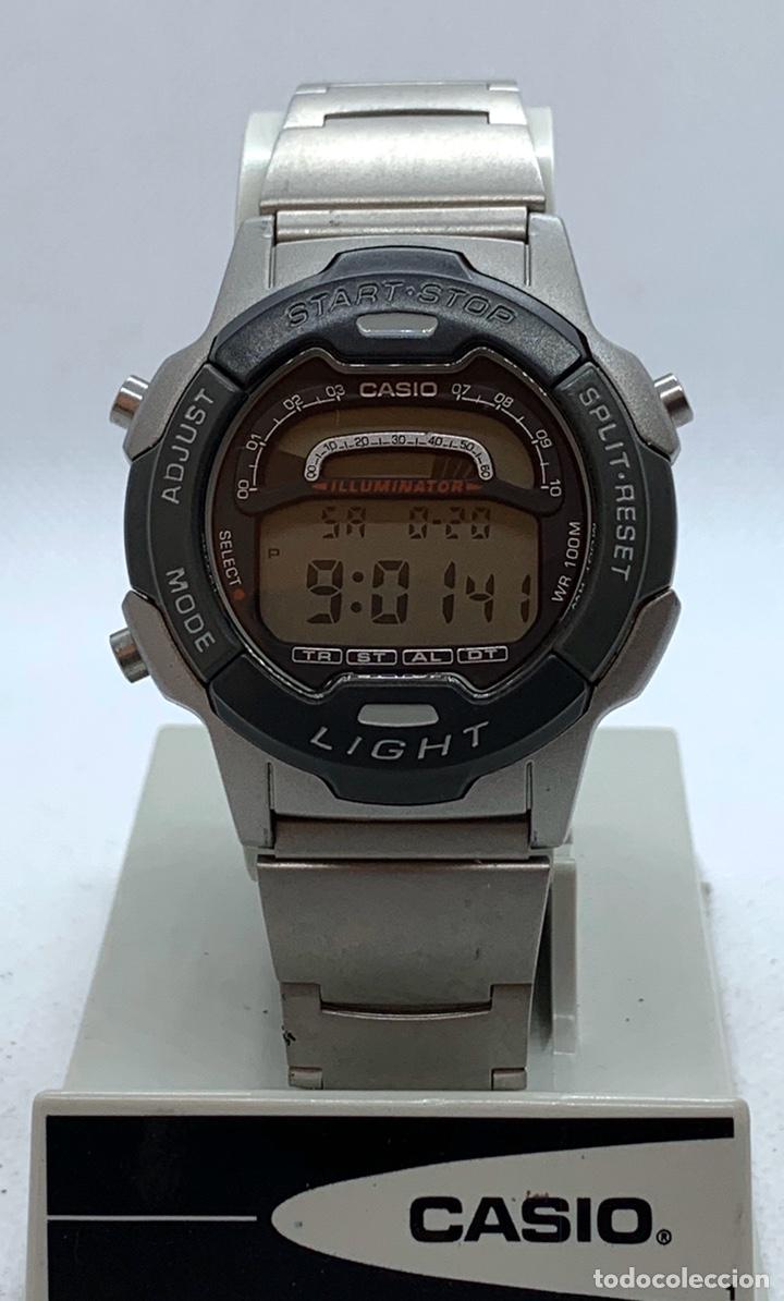 RELOJ CASIO W-729 NUEVO DE ANTIGUO STOCK (Relojes - Relojes Vintage )