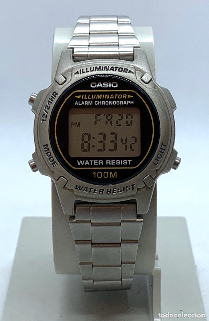 RELOJ CASIO LW-100 H NUEVO DE ANTIGUO STOCK (Relojes - Relojes Vintage )