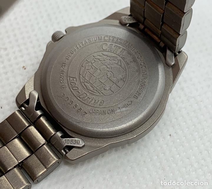 Vintage: Reloj Citizen Titanio Eco Drive de mujer nuevo antiguo stock - Foto 4 - 194898186