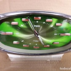 Vintage: RELOJ DESPERTADOR IMPEX, MADE IN JAPAN AÑOS 70, FUNCIONADO.. Lote 195301701