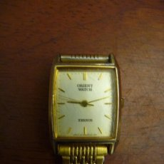 Vintage: ORIENT WATCH, XERNUS SEÑORA. JAPAN. 24 KT. GOLD PLATED. MARCHA, CUARZO. Lote 195334063