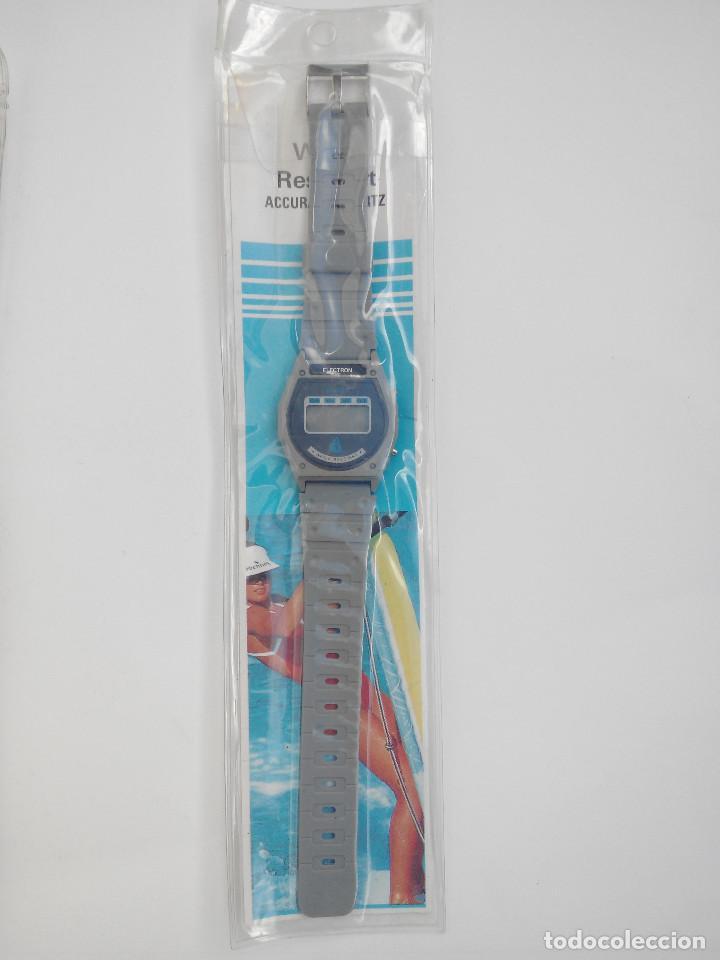 RELOJ MARCA ELECTRON - DIGITAL - SIN USAR - (Relojes - Relojes Vintage )