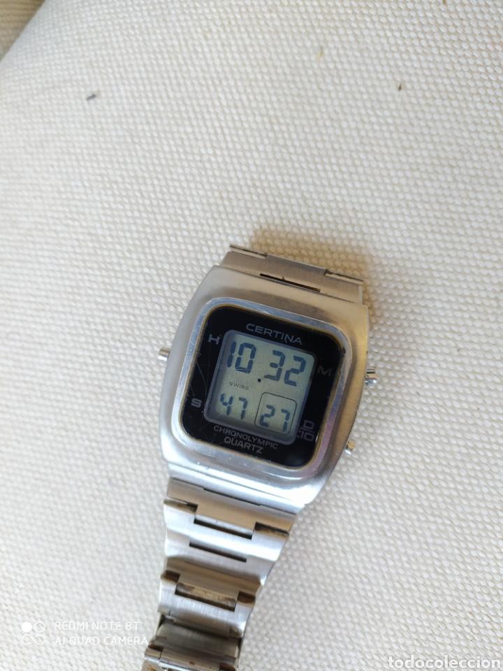 CERTINA CHRONOLYMPIC QUARTZ AÑOS 70 (Relojes - Relojes Vintage )