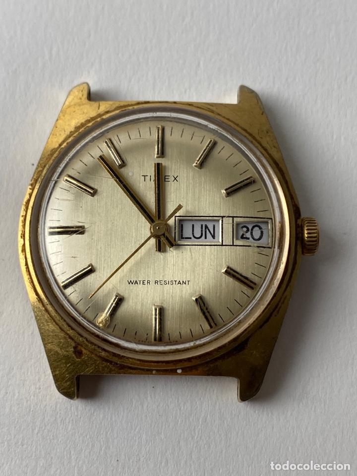 RE-37. RELOJ DE PULSERA HOMBRE AUTOMATICOTIMEX WATER RESISTANT. MEDIADOS S.XX. (Relojes - Relojes Vintage )