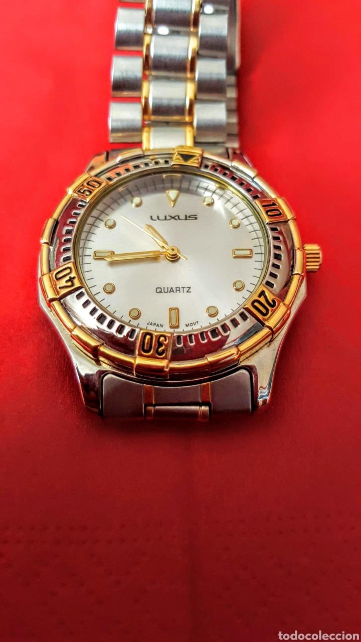 Vintage: Lote de 3 relojes de cuarzo japan NUEVOS procedente de relojeria cerrada todos los relojes funcionan - Foto 3 - 195384600