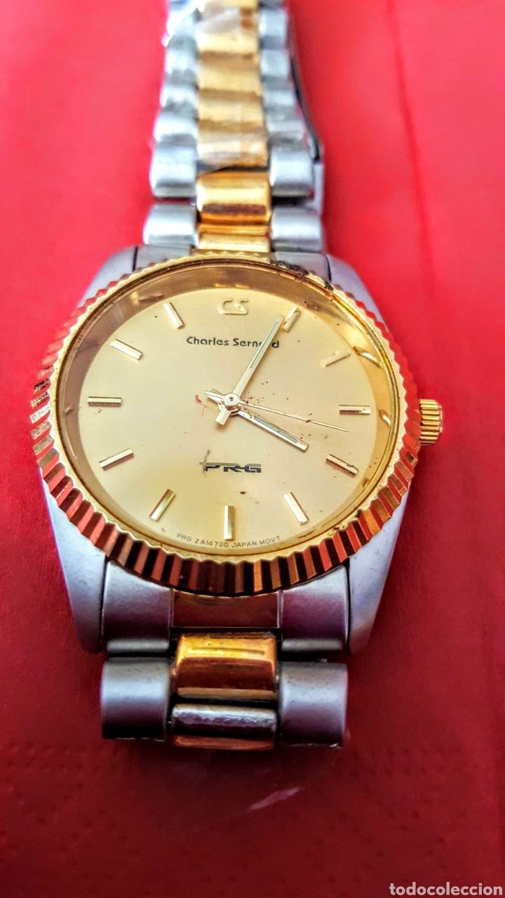 Vintage: Lote de 3 relojes de cuarzo japan NUEVOS procedente de relojeria cerrada todos los relojes funcionan - Foto 4 - 195384600